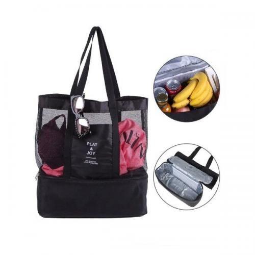 Складная пляжная сумка-термос оптом