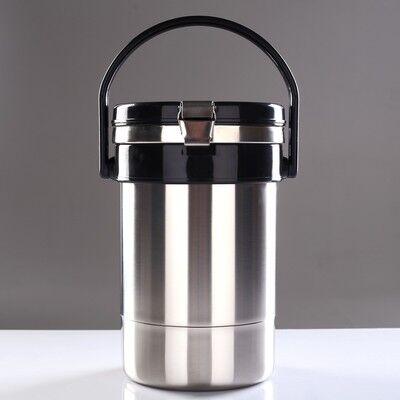 Термос для еды Экспресс 1с934, 2 контейнера, 2.5 л (0.6 + 0.6 + 1,3 л), 55 °С, 8 ч