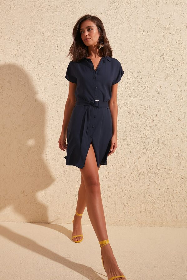 Платье %90 Viskon %10 Polyester,