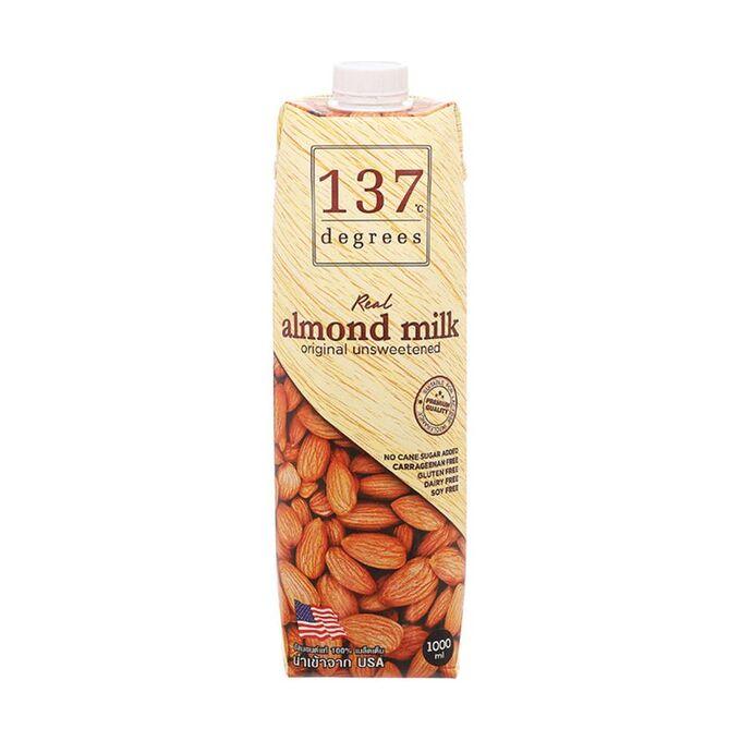 Молоко миндальное с нектаром кокосовых соцветий, 137 Degrees, 1л