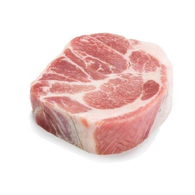 Свинина, стейк из шеи, замороженный,  250г