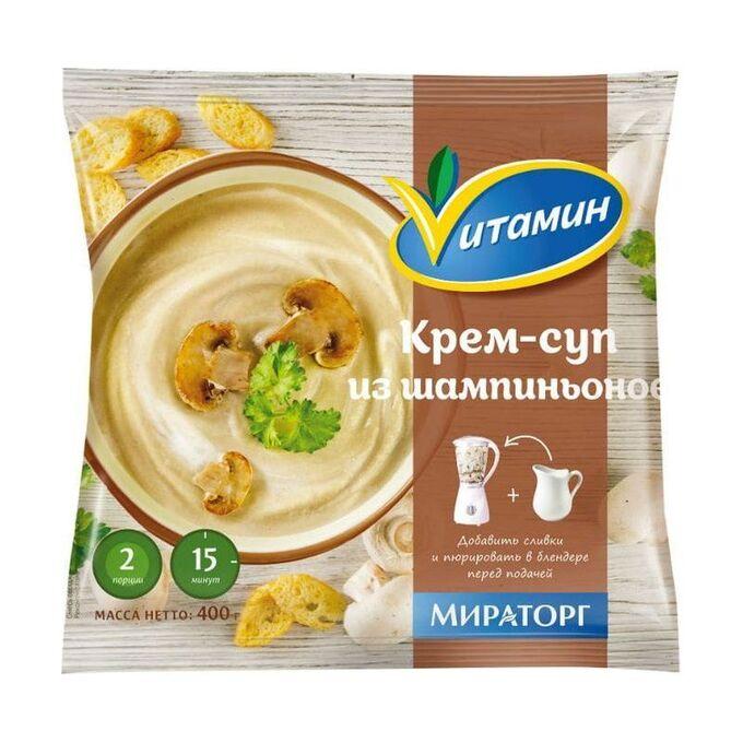 Крем-суп из шампиньонов, Vитамин, 400г