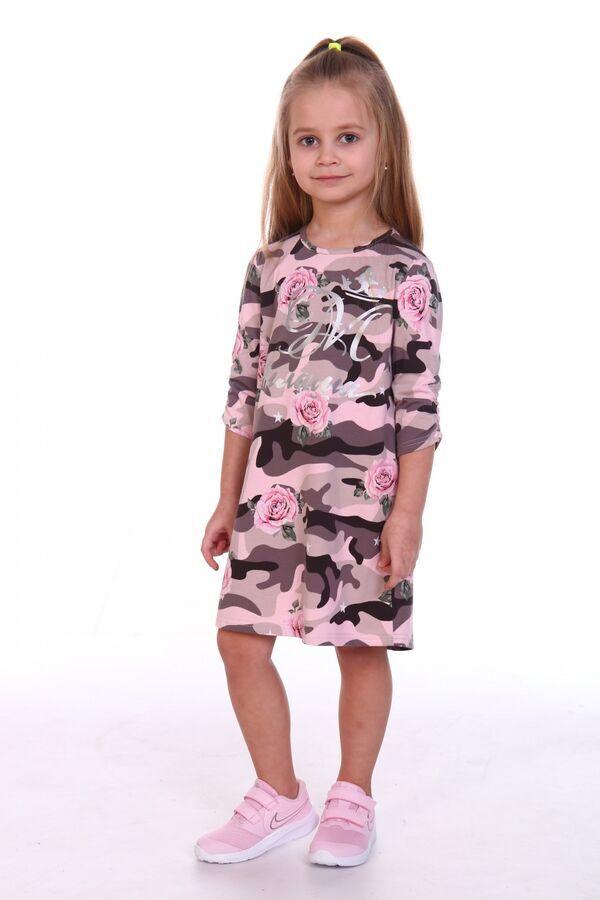 Платье Ткань: Кулирка с лайкрой Состав: Хлопок 92%; эластан 8%