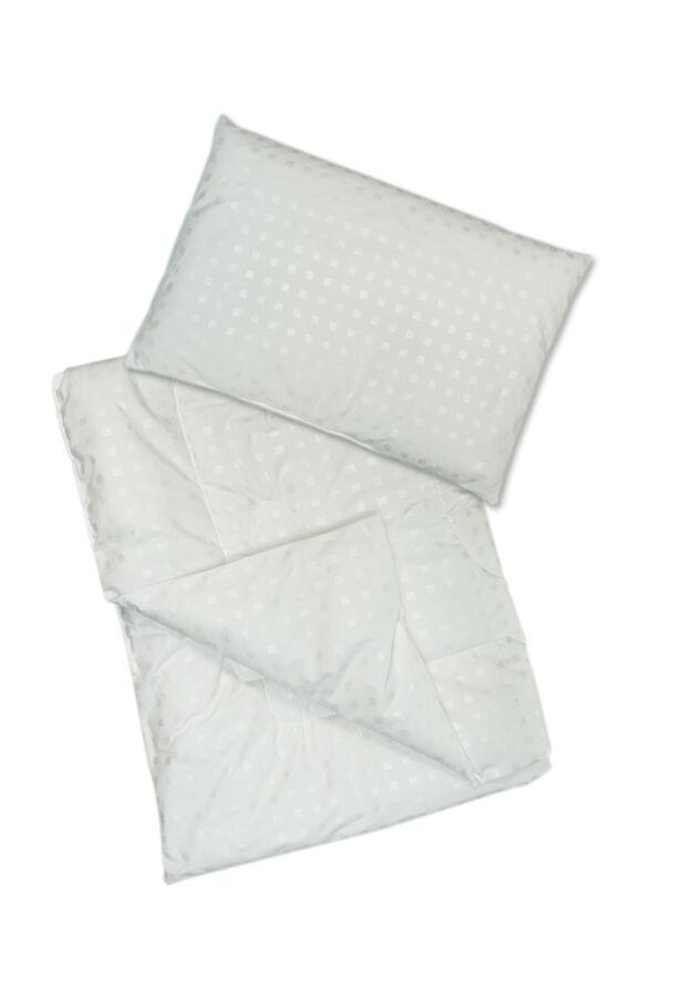 """Одеяло и подушка в кроватку """"Эвкалипт"""""""