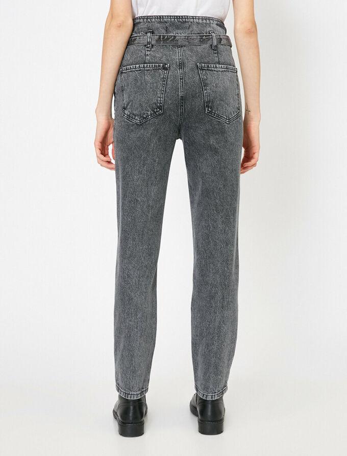 """Серые джинсы """"Mom Jeans"""""""