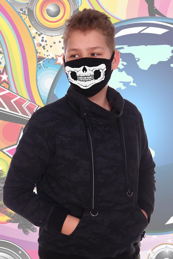 Санитарно-гигиеническая маска немедицинского назначения Зиппер (подростковая)