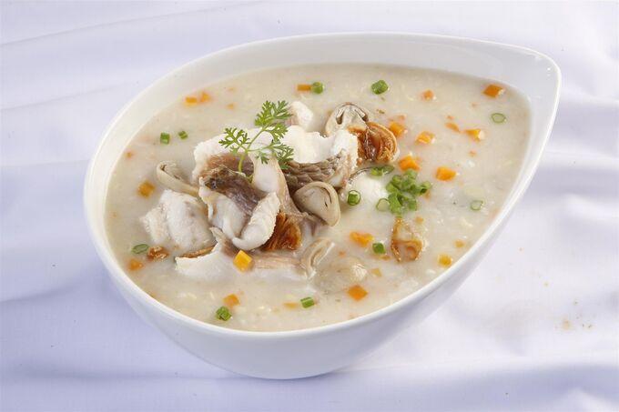 Рисовая каша с рыбой 50 гр