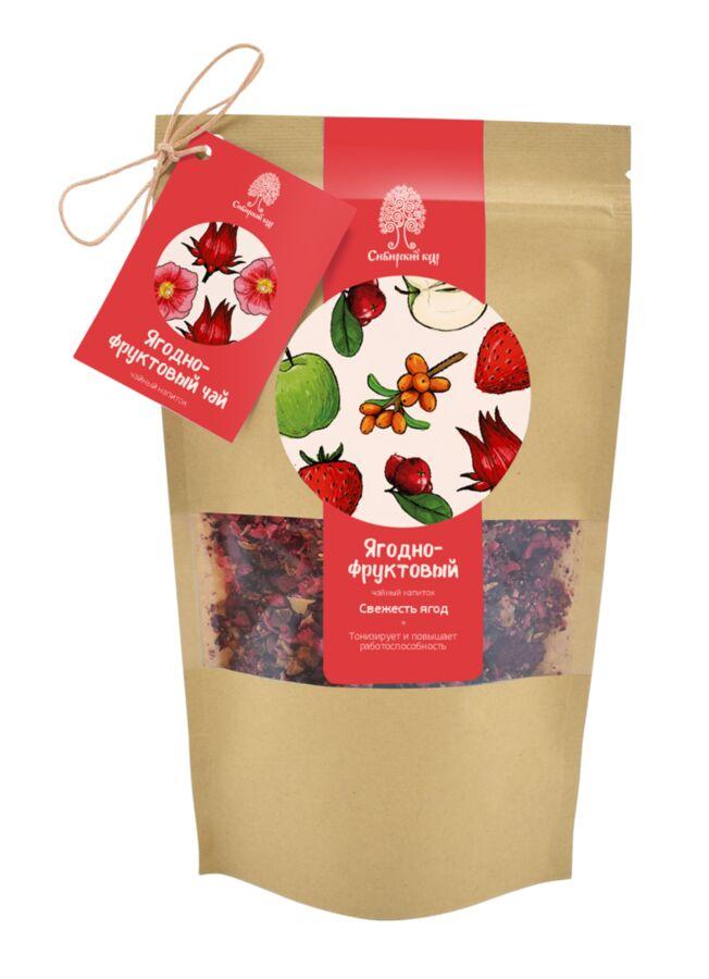 """Ягодно-фруктовый чайный напиток  """"Свежесть ягод"""" / CraftTea / 50 г"""