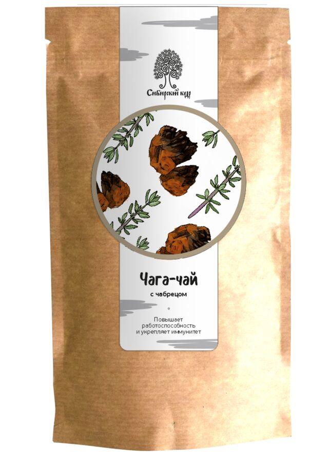 Чайный напиток Чага-чай с чабрецом / CraftTea / 70 г