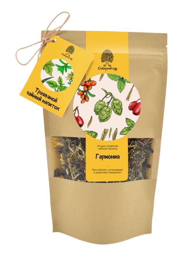 Чайный напиток травяной «Гармония» / CraftTea / 50 г
