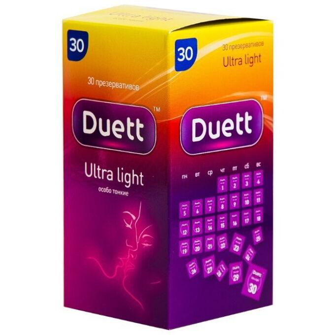 "Презервативы ""DUETT Ultra Light"" № 30"