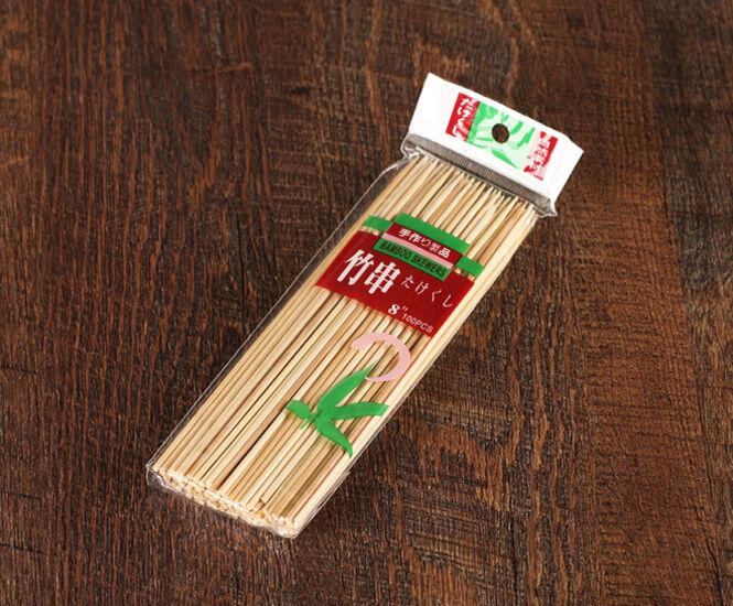 Бамбуковый шампур, 18 см