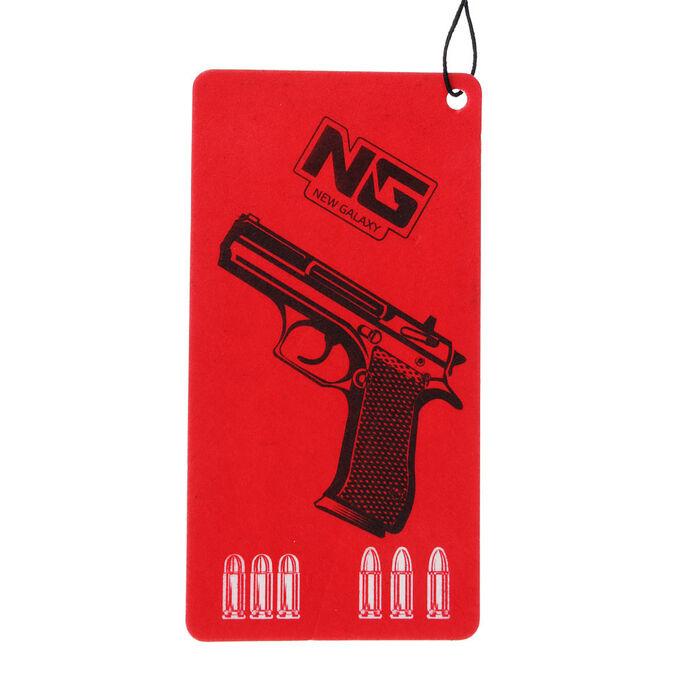 NEW GALAXY Ароматизатор бумажный Danger/Gangsta, новая машина