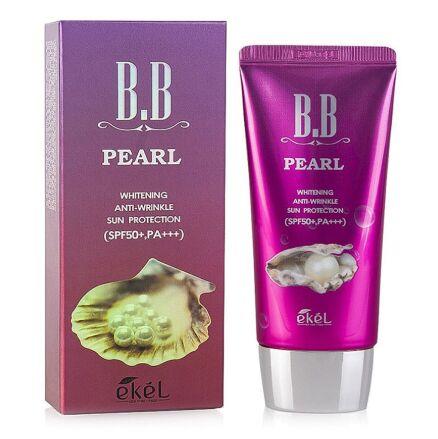 Жемчужный ББ-крем EKEL Pearl B.B Cream SPF50+ PA+++, 50мл