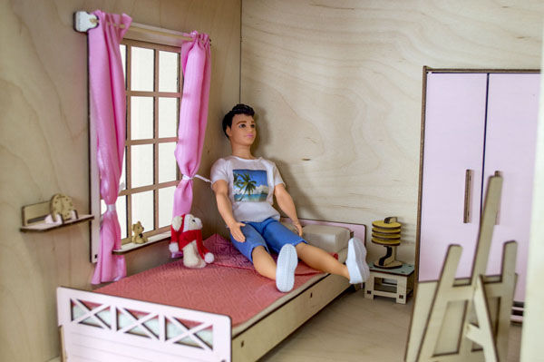 Домик Барби №11 - 110 см