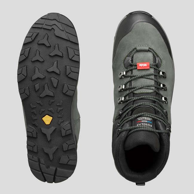 Ботинки для треккинга в горах кожаные мужские