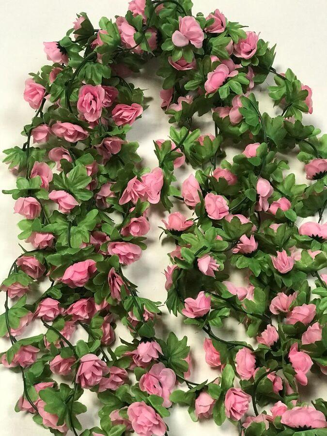 Лиана роза чайная 1,9м бутон 4 см.Цвет светло-розовый.