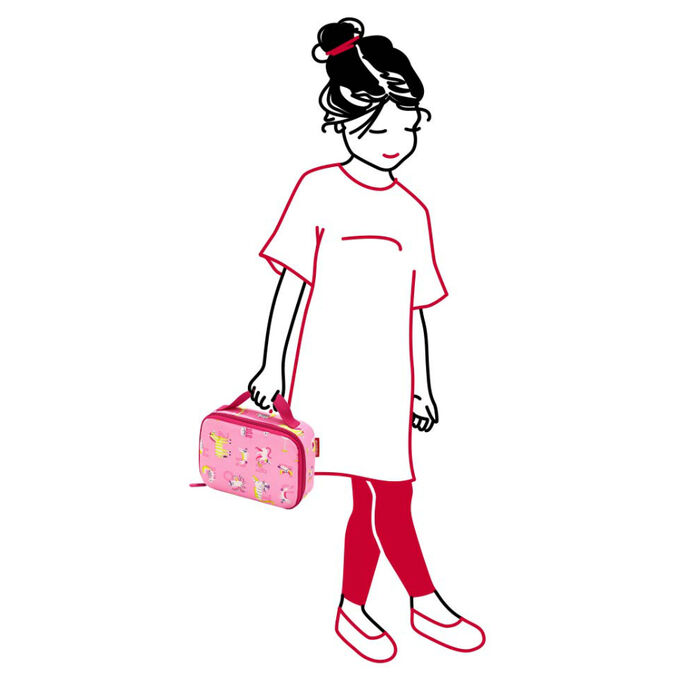 Термосумка детская Thermocase ABC friends pink