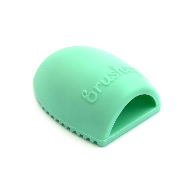 Щетка для чистки косметических кистей Brushegg - бирюзовая