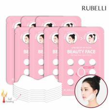 Rubelli Beauty Face Hot Mask Sheet 7 packs - Эффективная маска для подтяжки контура лица