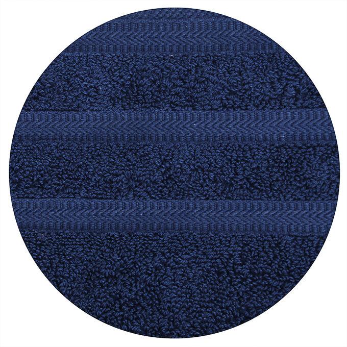 PROVANCE Виана Океан Полотенце махровое, 100% хлопок, 70х130см, 450гр/м, глубокий синий