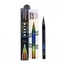 Tinchew Tattoo Black Eyeliner - Стойкая подводка-фломастер для глаз 0,6г