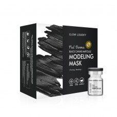Glow Loudey Peel Derma Black Caviar Ampoule Modeling Mask - Укрепляющая альгинатная маска с экстрактом черной икры