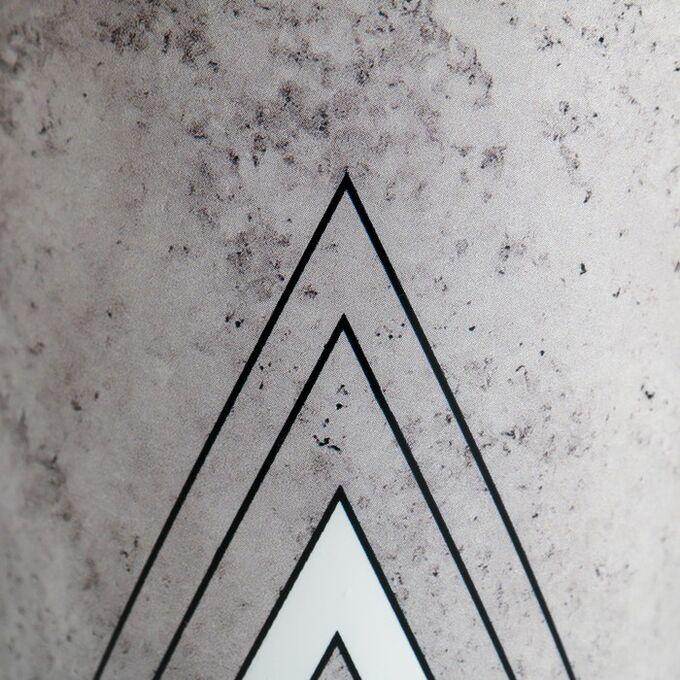 Набор кашпо 3 в 1 «Черно-белый стиль», 0,8 л, 11 х 12 см