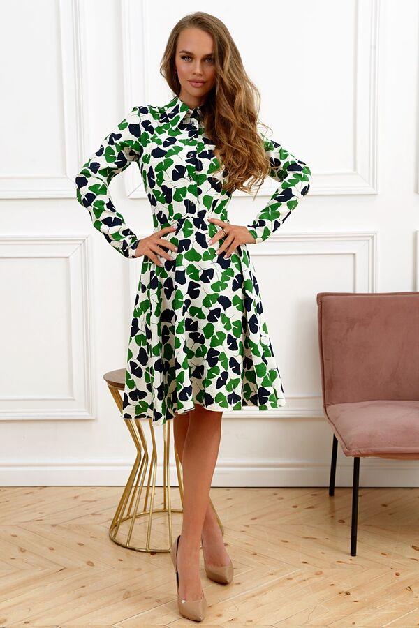 Платье Шикарное платье из хлопковой ткани. Перед до пояса, застегивается красивыми пуговками со стразами. Отличная посадка по фигуре.