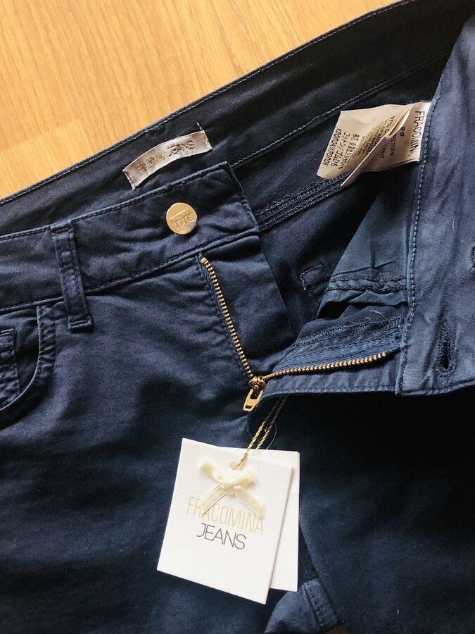 Синие брючки/джинсы FRACOMINA во Владивостоке