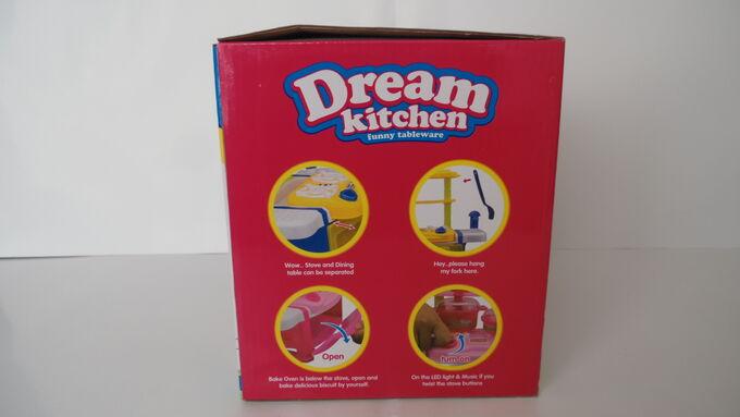 Кухня Кухня  размер 35*33*20 см Состоит из 24 предметов Звук и свет Батарейки 2 шт АА (в комплект не входят)