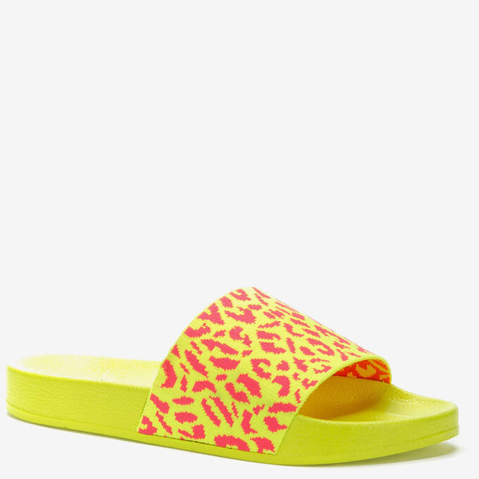 807631/01-02 желтый текстиль женские туфли открытые