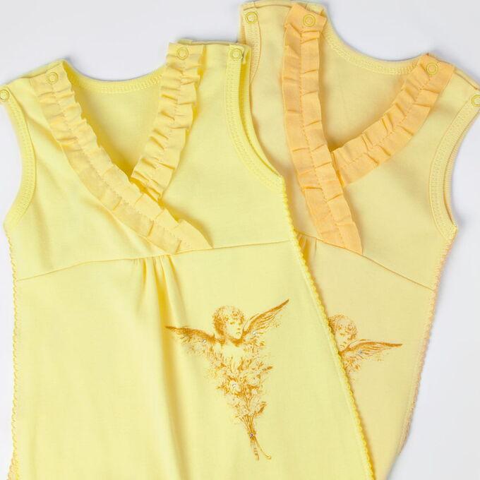 Ползунки ЦВЕТ: желтый,  Замеры модели* * рост указан приблизительно, ориентируйтесь на замеры *Размер 62-68 - рост 62-68 см; *Размер 68-74 - рост 68-74 см; *Размер 74-80 - рост 74-80 см. Ползунки C