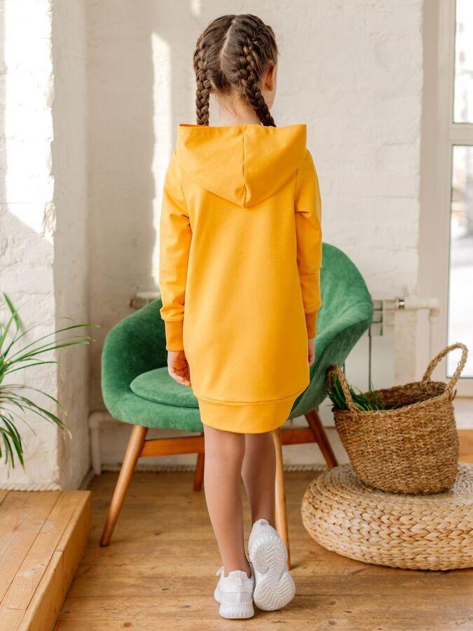 Платье SPORT горчица