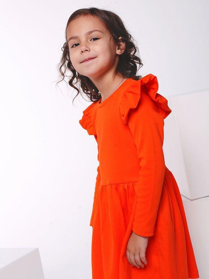 Платье Фея оранжевый