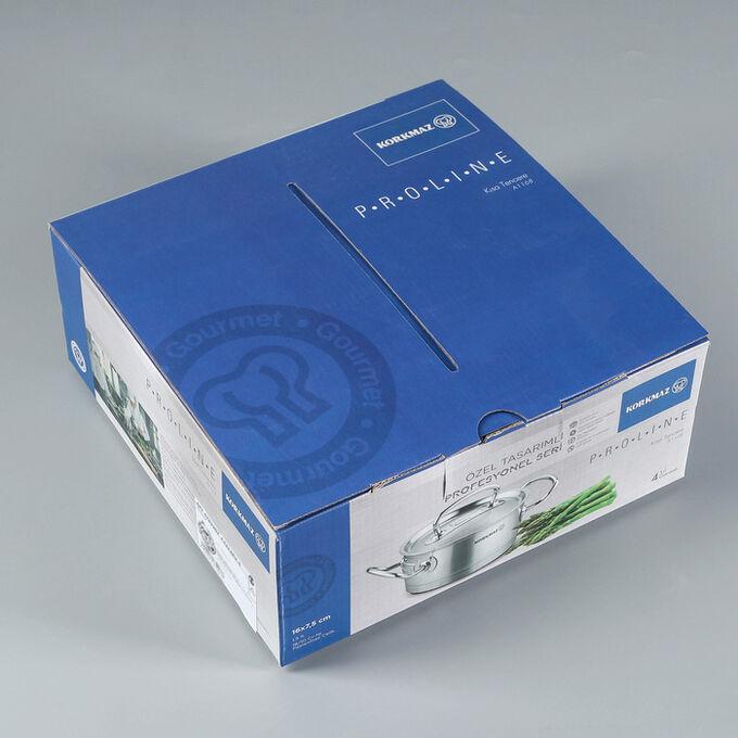 Кастрюля Pro line, 1,5 л, 16х7,5 см