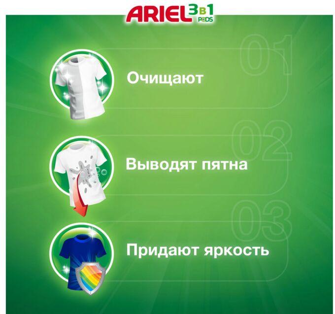 ARIEL Авт Гель СМС жидк. в растворимых капсулах Liquid Capsules Color (30X27г)