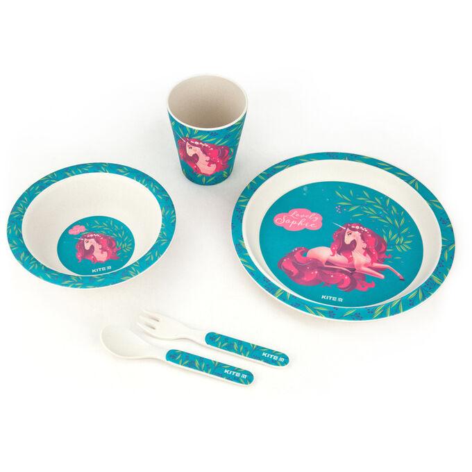 Набор посуды из бамбука Kite Lovely Sophie K20-313-1, 5 предметов