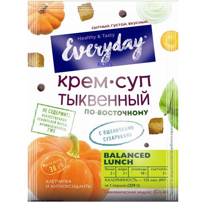Крем-суп  EVERYDAY пряный тыквенный по-восточному п/п 30 гр