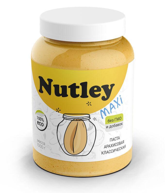 Паста арахисовая  классическая 1000 г Nutley