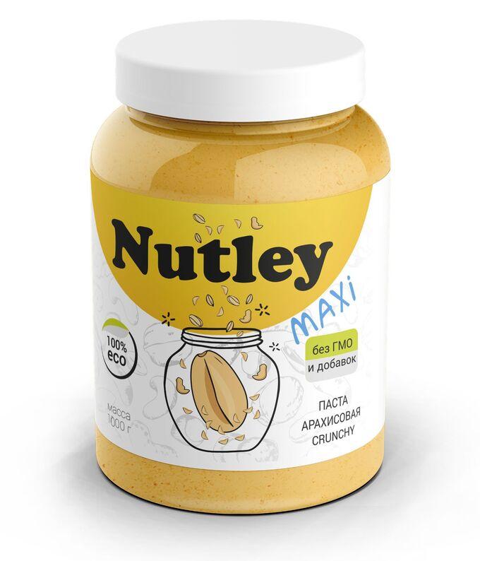 Паста арахисовая crunchy 1000 г Nutley