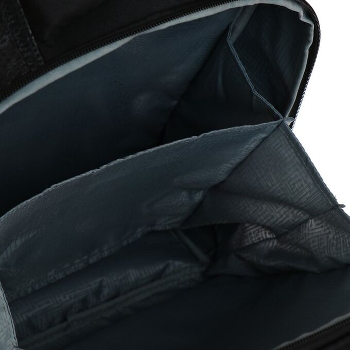 Рюкзак каркасный Hatber Ergonomic light 38 х 29 х 16, для мальчика Camouflage, синий