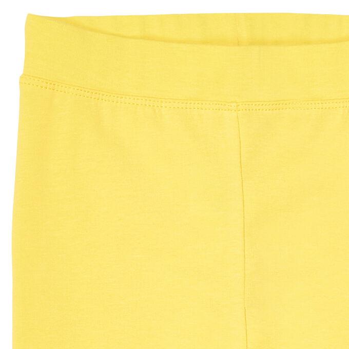 Брюки для девочки, жёлтый