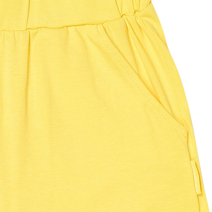 Шорты для девочки, жёлтый