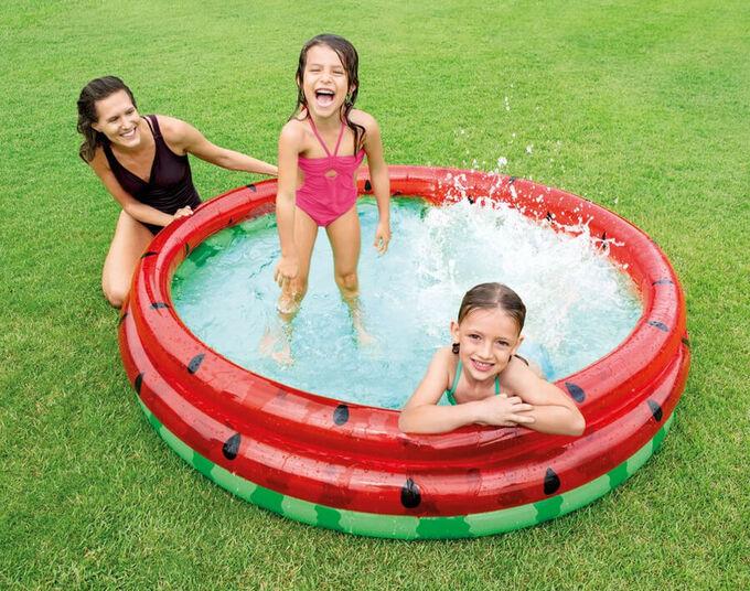 Детский надувной бассейн intex 168x38 см , 581 л 🌊