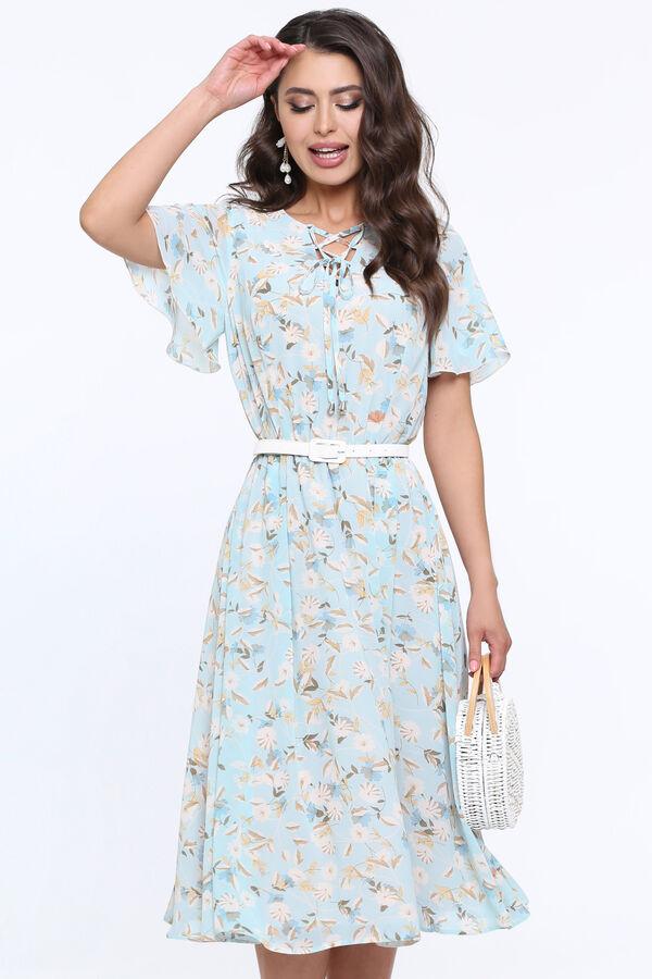 Платье Чувство прекрасного, романтичная, с ремешком в Хабаровске