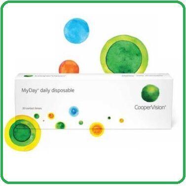 Однодневные контактные линзы MyDay daily disposable (30 линз)