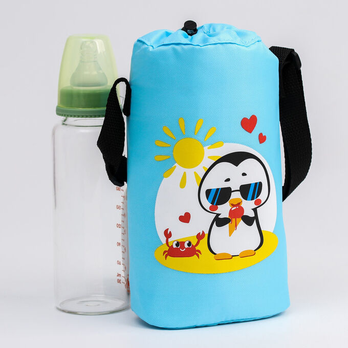 Термосумка для бутылочки «TRAND. Пингвин», для 2 бутылочек