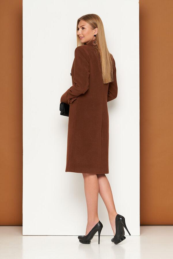 """Пальто """"Р-40"""" (кашемир коричневый)"""
