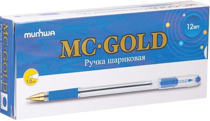 Ручка шариковая КОРОБКА 12 шт